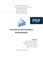 Innovaciones Estructurales y Sustentabilidad