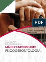 Máster UCM Psicogerontología