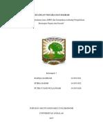 KELOMPOK 7 KND A2 Paper Pemotongan Dan Penghematan Dana APBN