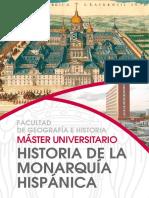 Máster UCM en Historia de la Monarquía Hispánica