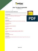 FT Weber Tarrajeo Proyectable