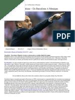 Pep Guardiola_ as Táticas – de Barcelona a Munique · Revista Para Quem Quer Saber Mais