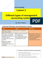 Lesson 2 HND in Business Unit 5 Management Accounting