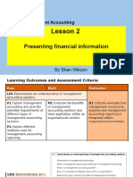 Lesson 3 HND in Business Unit 5 Management Accounting