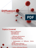 Diffusion Report