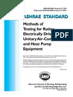 Ansi Ashrae Standard 37-2009 v1