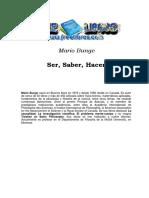 Ser, Saber, Hacer - Mario Bunge-FREELIBROS.pdf