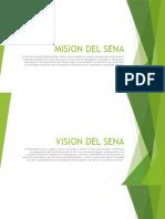 Mision Del Sena Presentacion