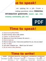 Time to speak! (1)