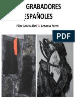 Dos Grabadores Españoles