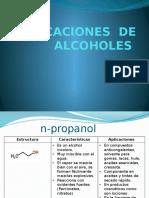 Aplicaciones industriales de Alcoholes y fenoles