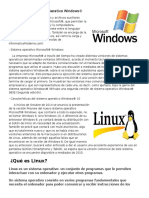 Definición de Sistema Operativo Windows