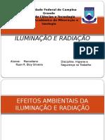 Iluminação e Radiação