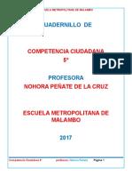 Cuadernillo de Competencia Ciudadana