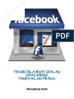 5 Teknik GILA Jualan Facebook