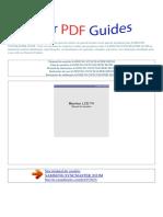 Manual Do Usuário Samsung Syncmaster 2033m p