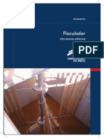 Equip Floculador Palhetas Verticais