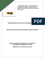 Evidencia AA2-1 Propuesta de La Arquitectura Tecnológica Para La Alcaldía de San