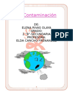 La Contaminación