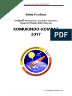 Buku Panduan Komurindo-kombat 2017