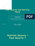 Food Security and Nutrition Nexus