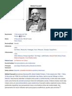 Michel Foucault – Wikipédia, A Enciclopédia Livre