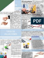 TIPOS DE VALUACIONES