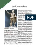 Escultura de La Antigua Roma