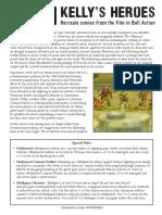 Kelly's Heroes Leaflet PDF Free