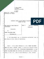 Frank Rees Criminal Complaint
