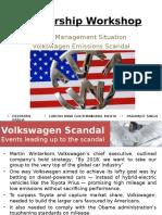 Volkswagen-Response to Crisis Final