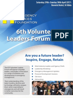 2017 - Volunteer Leaders Forum