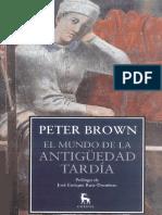 PETER BROWN-EL MUNDO DE LA ANTIGUEDAD TARDIA.pdf