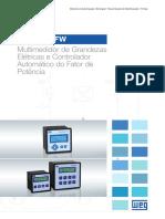 WEG Multimedidor Mmw e Controlador Pfw 50025399 Catalogo Portugues Br