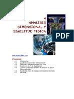 Analisis Dimensional Similitud Fisica