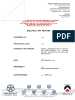 Dilapidation Report