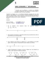 Problemario 1ero Secundaria 2015
