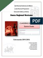 Danza Regional -Cuaderno de Trabajo Quinto 2015