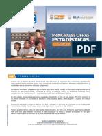 1. Principales Estadísticas de Alumnos Matriculados a Nivel de Educación Superior. 2014-2015.