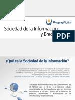 Sociedad de La Informacion y Brecha Digital