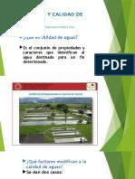 Separatas Diapositivas de Calidad de Aguas