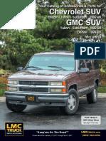 Chevrolet Grand Blazer Yukon Suburban -Service Manual-