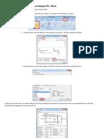 Tutorial Membuat Template Label Undangan Di Word 2007 - Kusnendar