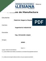 proceso manufactura