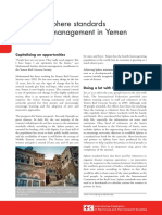 Sphere Standards Yemen