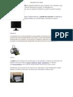 Dispositivos de Salida y de Almacenamiento de Computadora