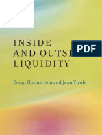 Bengt Holmström, Jean Tirole-Inside and Outside Liquidity-The MIT Press (2013)