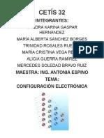 configuracion elctronica