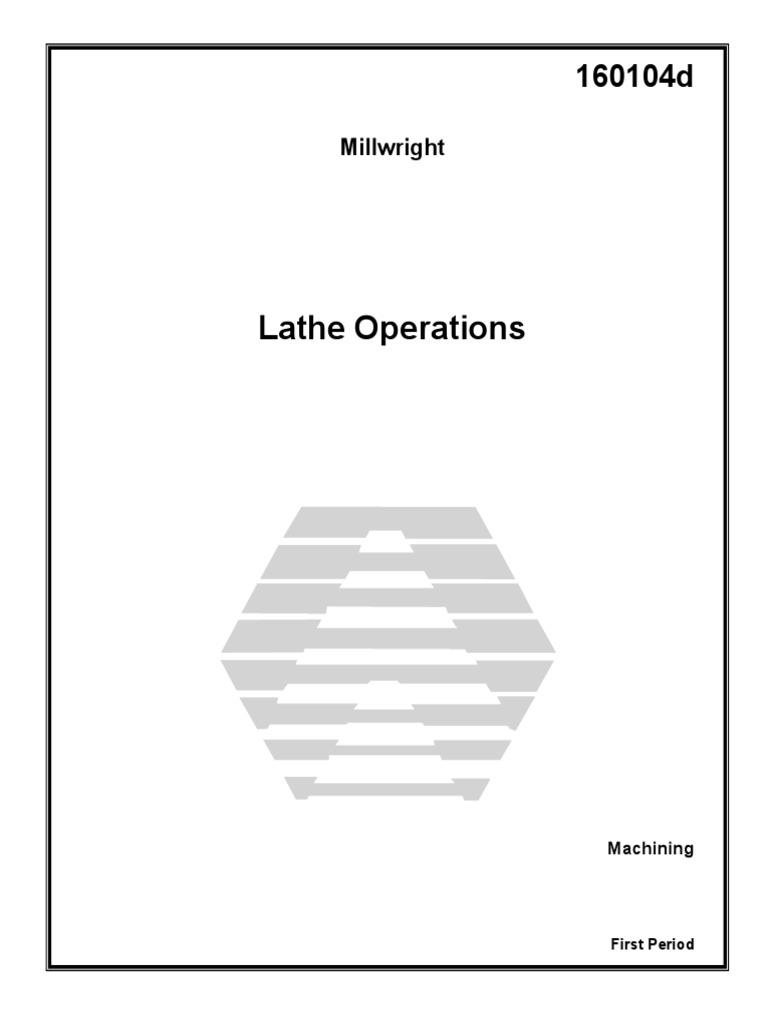 Millwright Manuals
