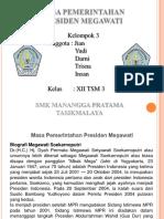 Masa Pemerintahan Presiden Megawati (PowerPoint)